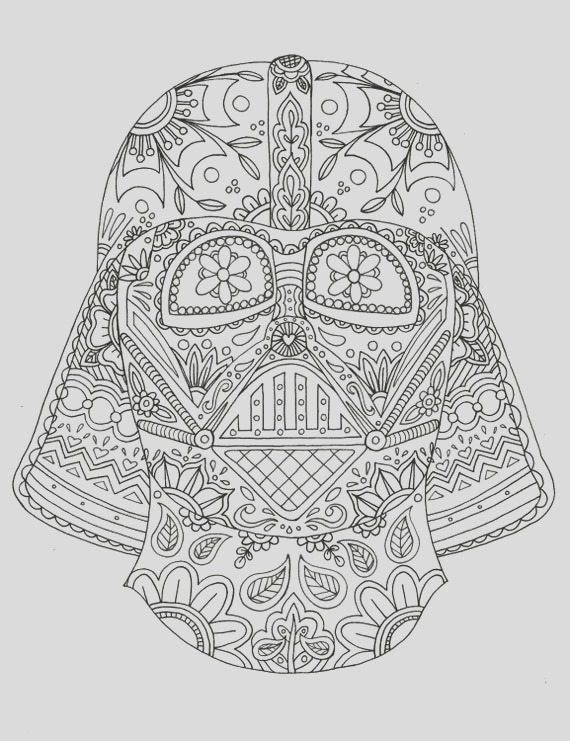 day of the dead darth vader mask adult