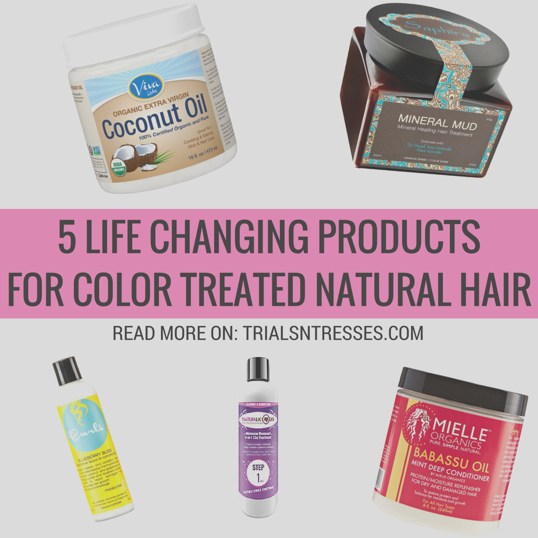 products for color treated natural hair