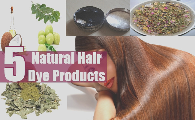 how to make natural hair dye products