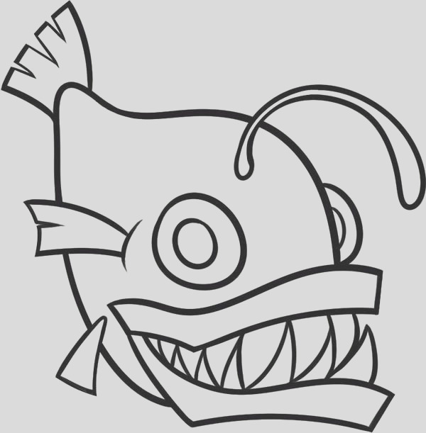 fish outline image