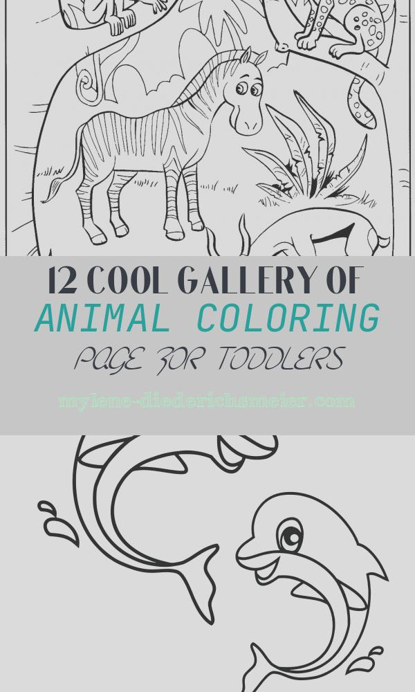 Animal Coloring Page for toddlers Inspirational toddler Coloring Pages