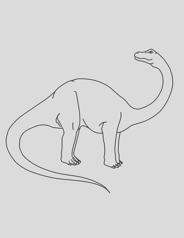 apatosaurus coloring pages for kids