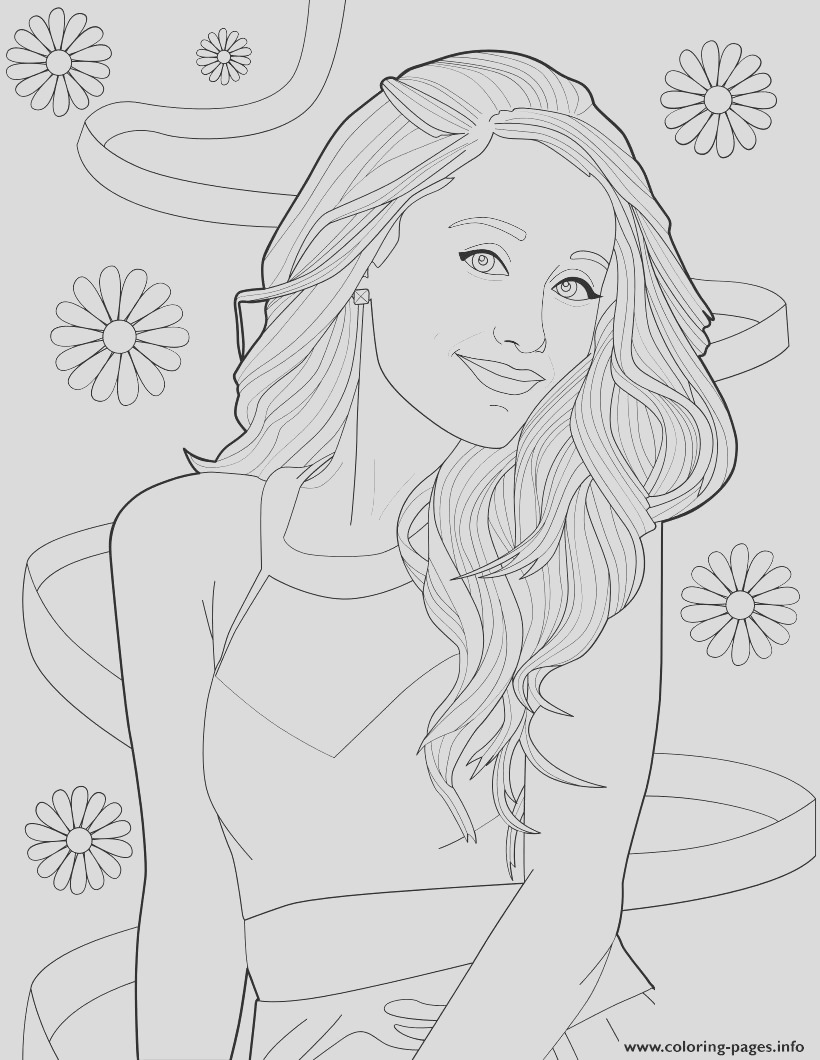 ariana grande printable coloring pages book