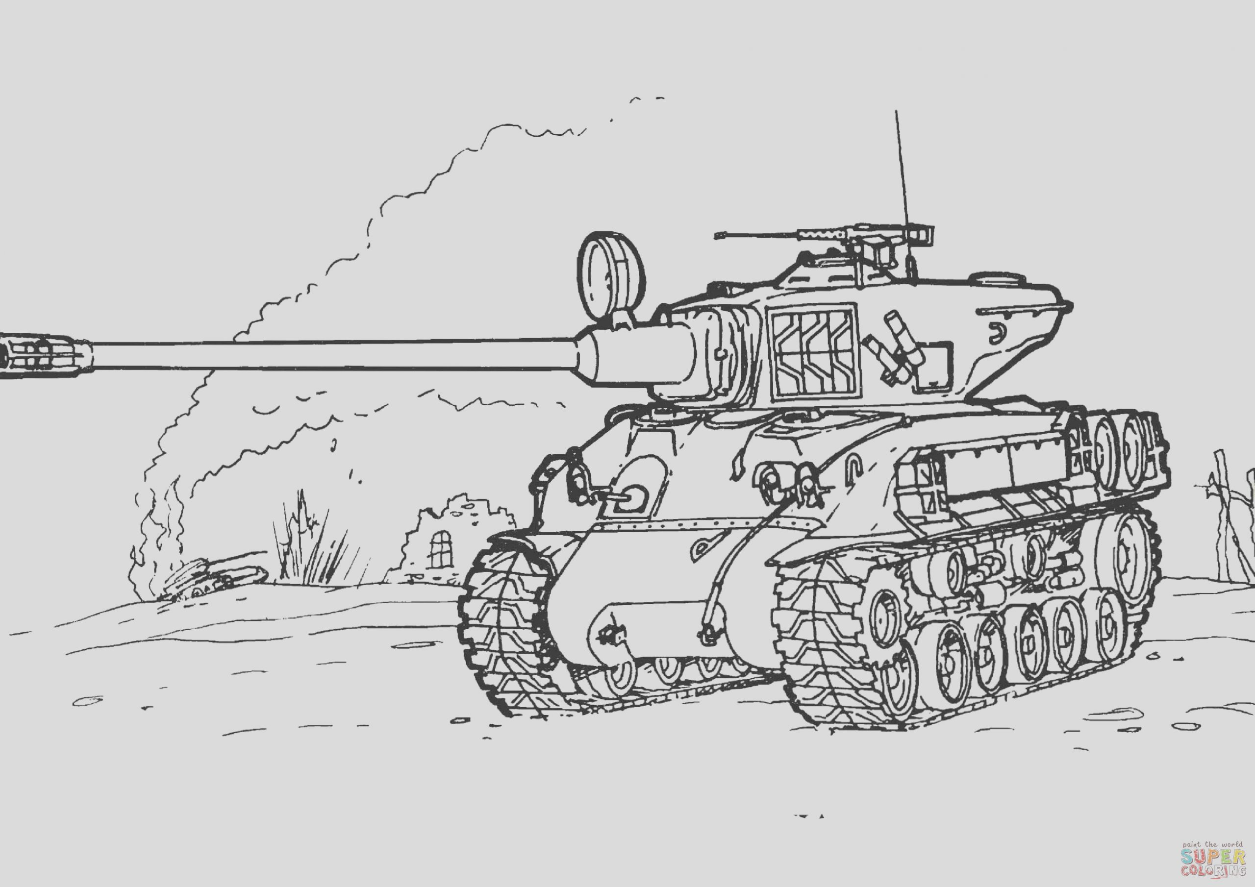 coloring pages army tanks