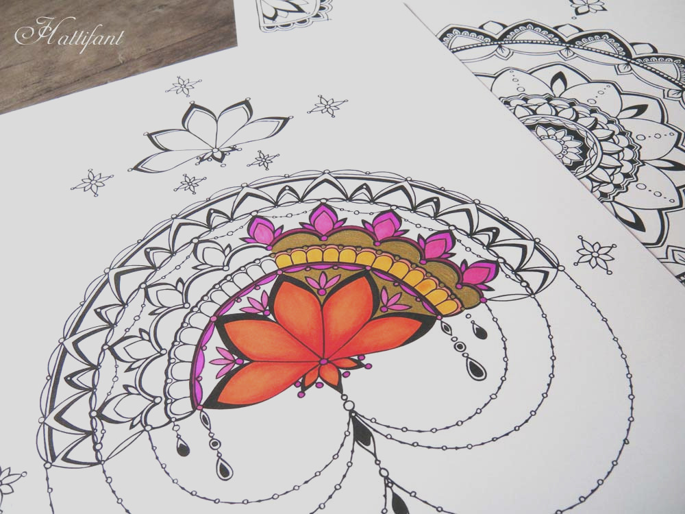 mandala therapy coloring pages