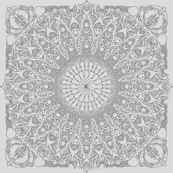 Hachette Art therapy coloring book
