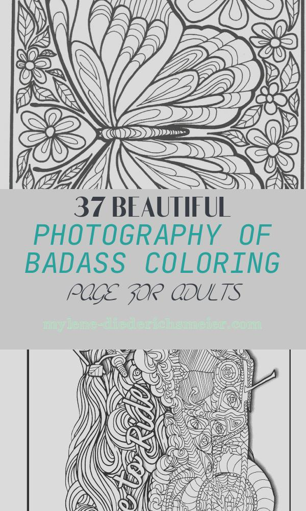 Badass Coloring Page for Adults Lovely 153 Best Badass Coloring Images On Pinterest