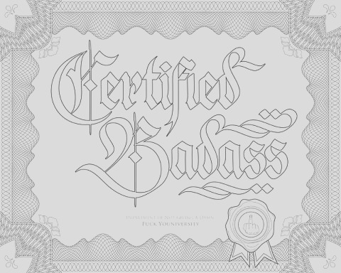 3 printable coloring pages for every curse word connoisseur