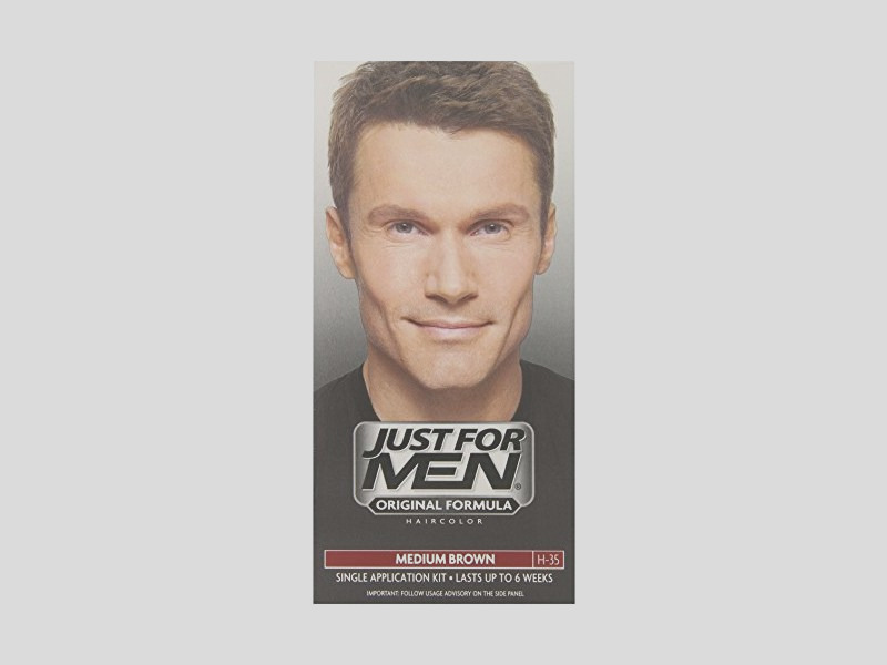 just for men shampoo in hair color medium brown 35