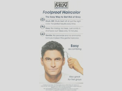 just for men autostop hair color real black a 56