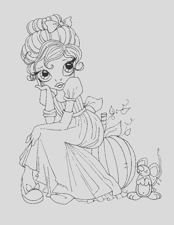 coloring pages big eye girls boys