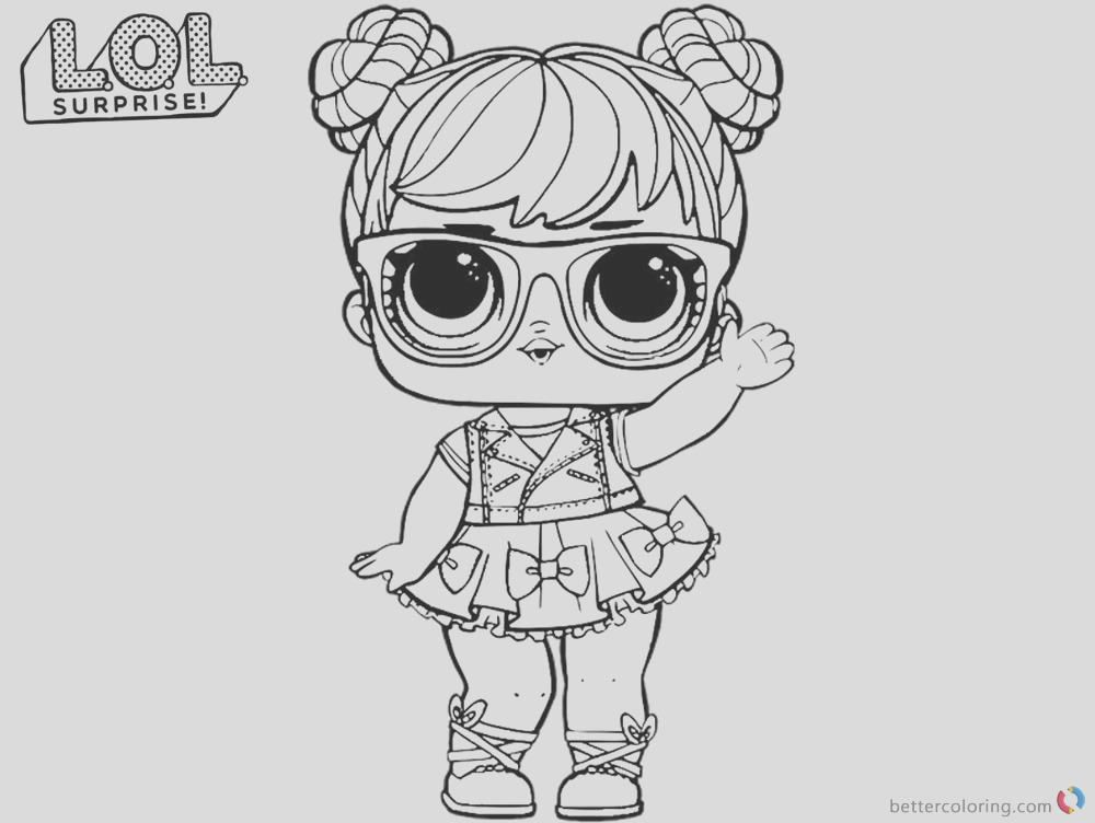 coloring pages big eyes doll