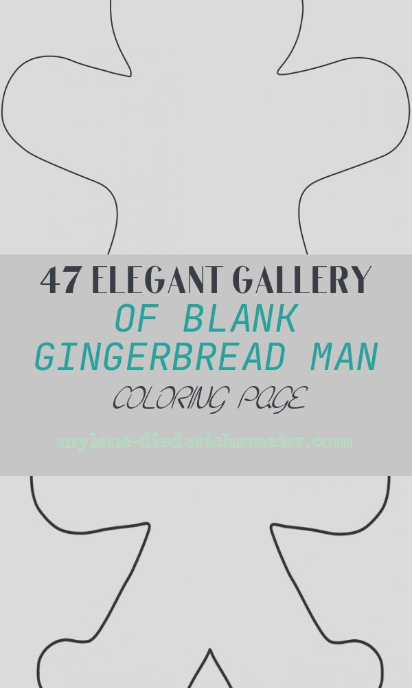 Blank Gingerbread Man Coloring Page Best Of Blank Gingerbread Man Coloring Page