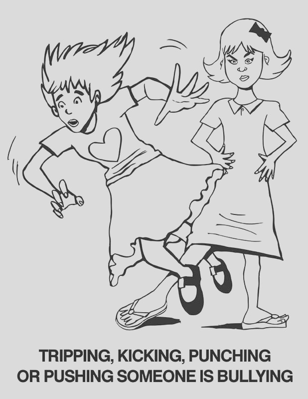 bullying coloring pages free printable coloring worksheets for kids 7