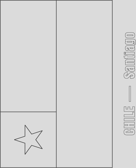 chile flag coloring page 1d1465