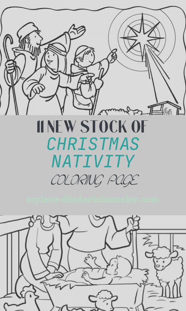Christmas Nativity Coloring Page Inspirational 14 Best Coloring Sheets Images On Pinterest