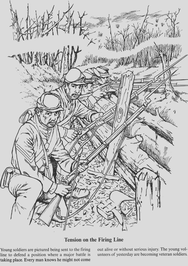 war colouring in