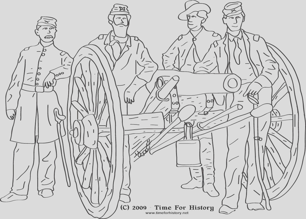 confederate sol r coloring pages