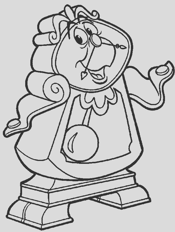 coloring pages 8 beauty and the beast