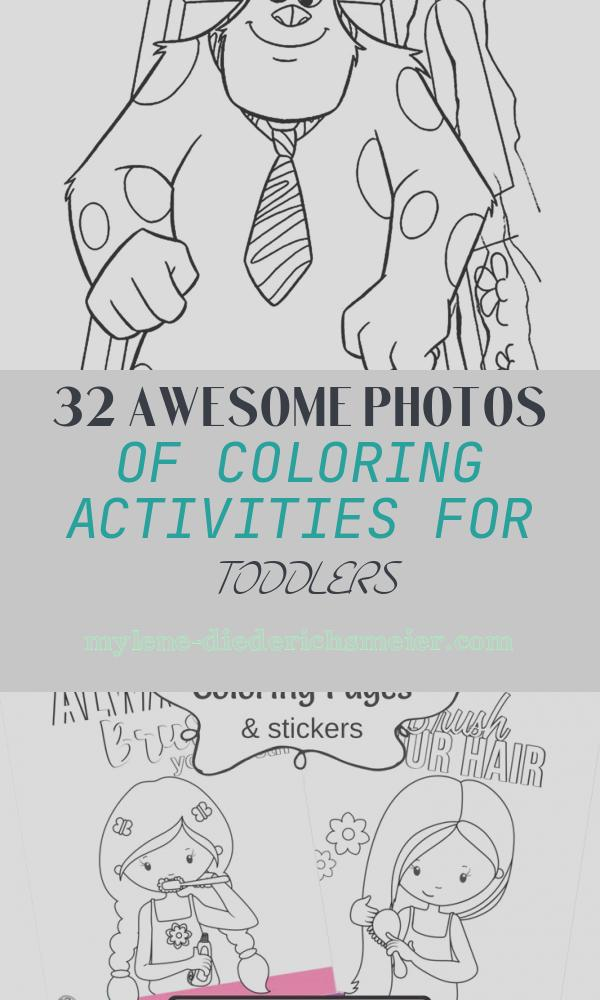 Coloring Activities for toddlers Elegant Monster and Aliens Coloring Pages Momjunction