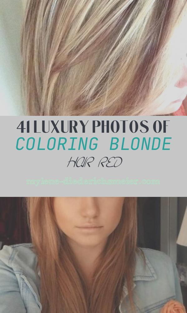 Coloring Blonde Hair Red Awesome Fermesi Hair Color Red and Blonde E See Me at Salon