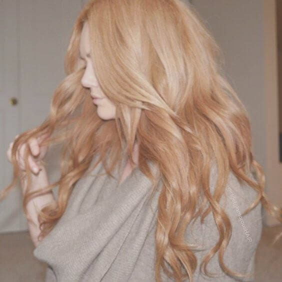 strawberry blonde hair colors ideas