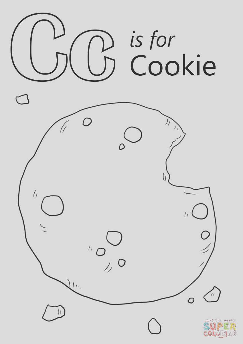 letter c is for cookie
