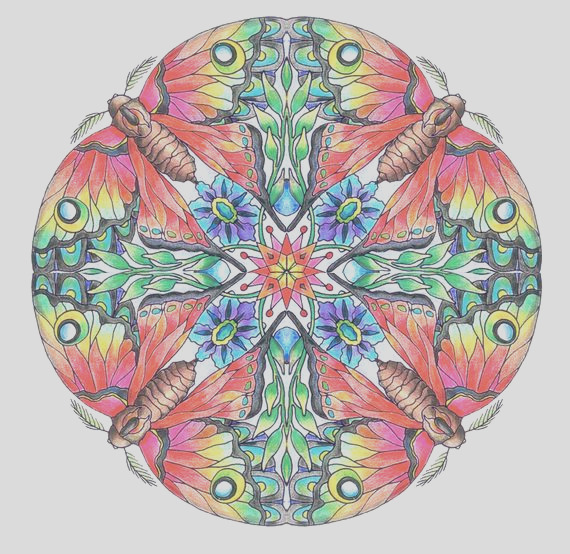 mandalas adult coloring pages set of 10