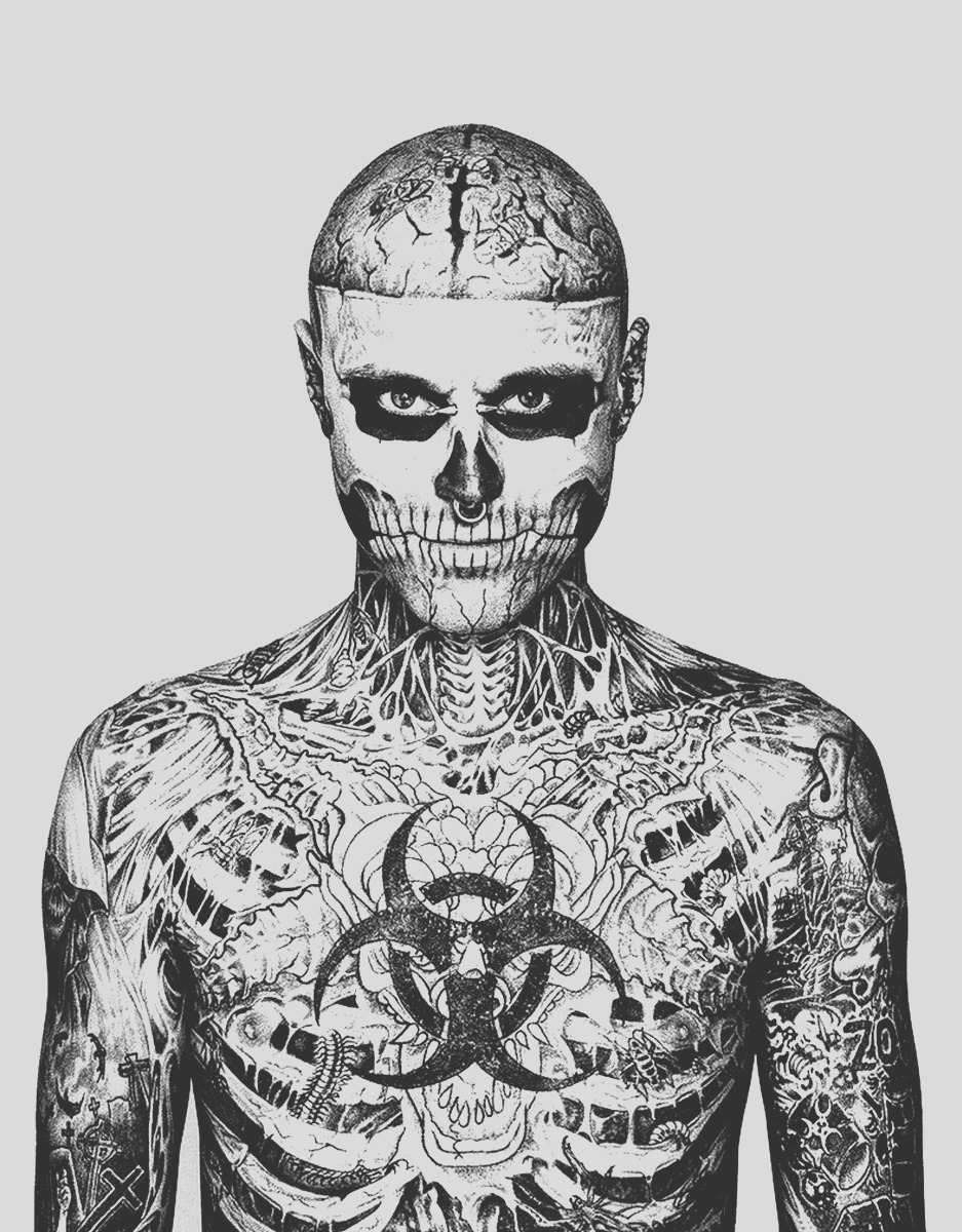 image=tatoo coloring rick genest face chest 1