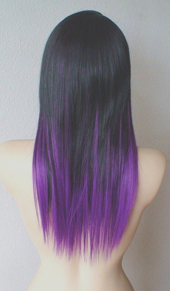 How can I dye my hair purple from Black hair