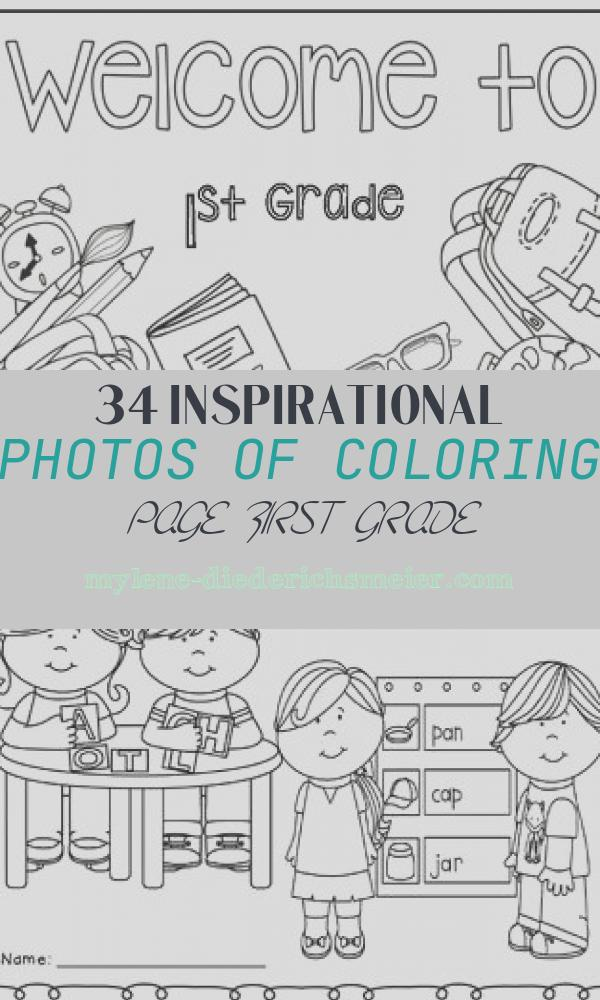 Coloring Page First Grade New Wel E to 1st Grade Coloring Page by Christa Leigh