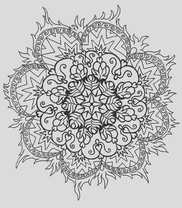 simple abstract coloring pages