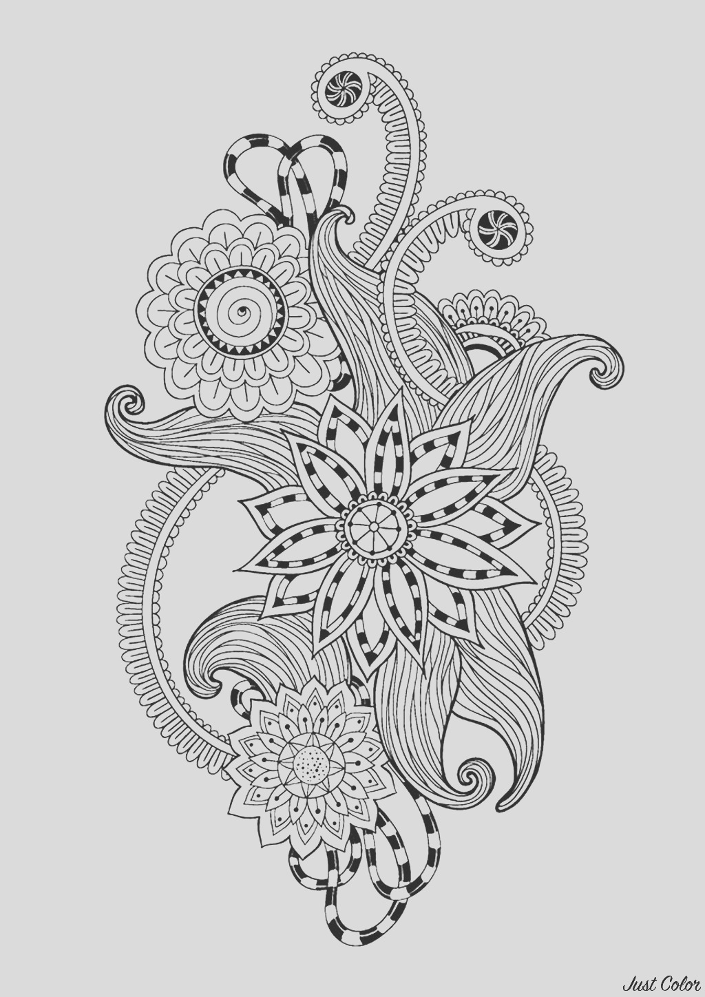 image=anti stress coloring zen antistress abstract pattern inspired by flowers 12 by juliasnegireva 1