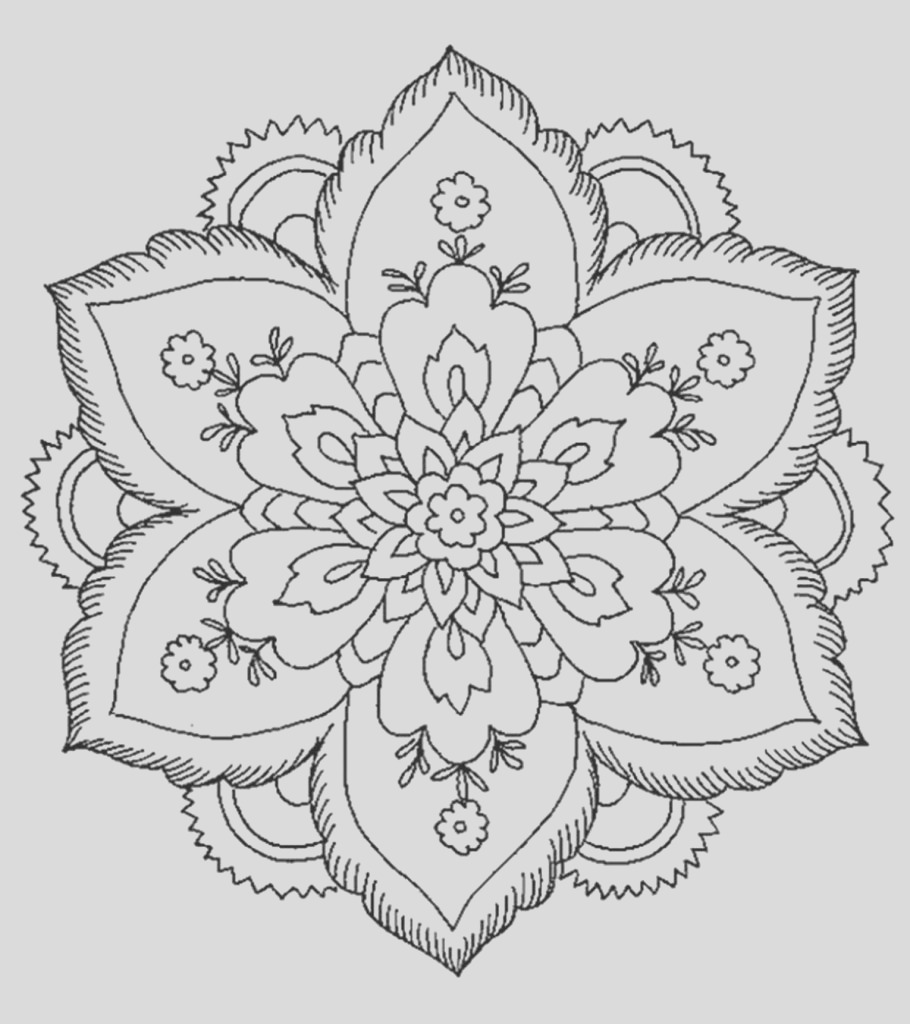 abstract coloring pages little ones