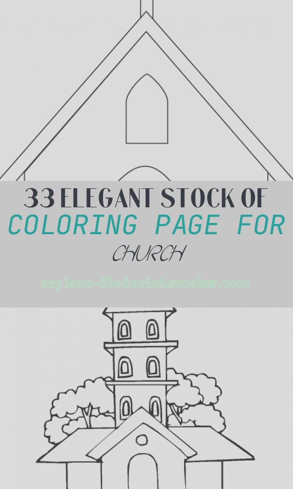 Coloring Page for Church Fresh Church Coloring Page