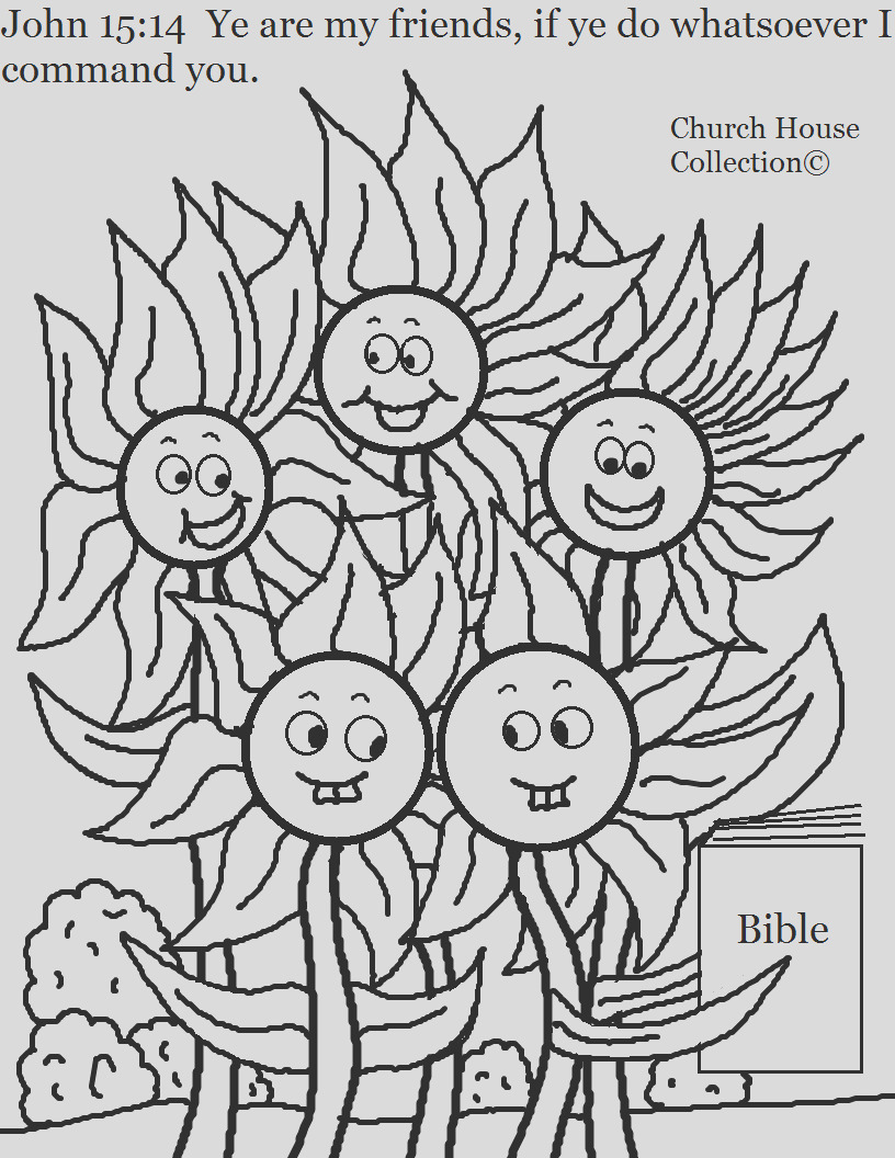 flower family john 1514 coloring page