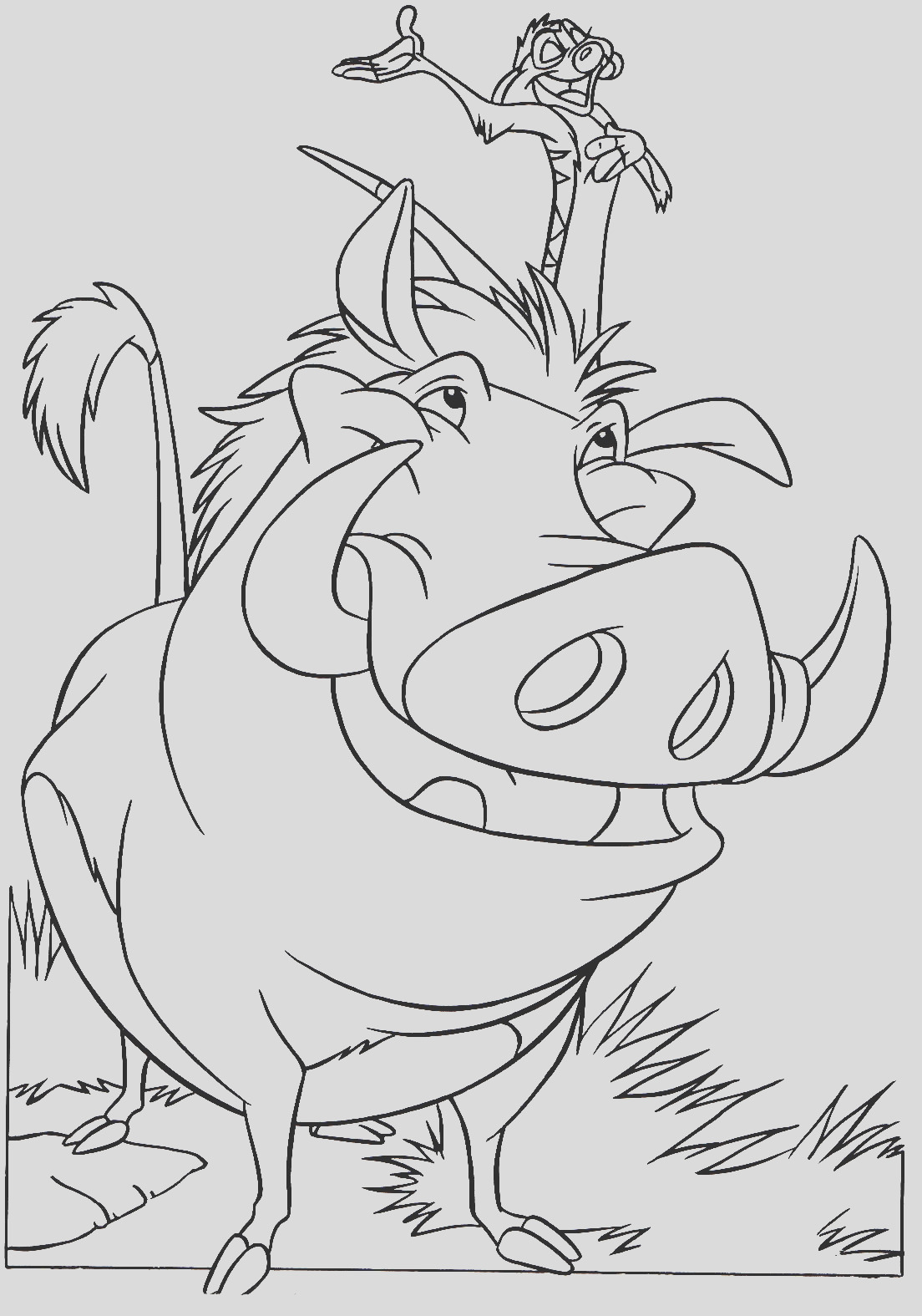 image=the lion king Coloring for kids the lion king 1
