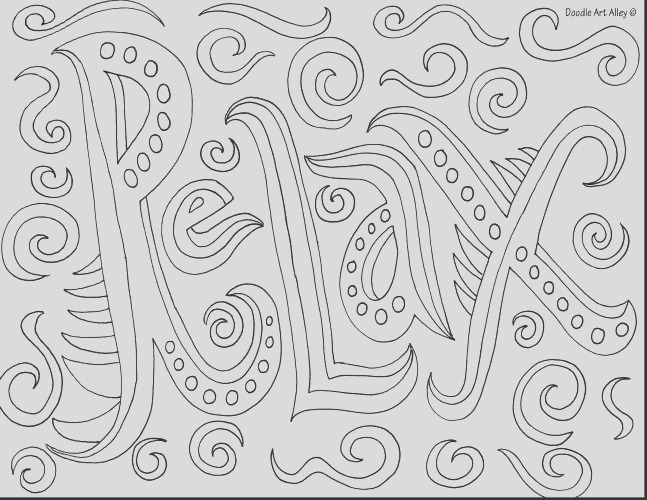 medium coloring pages