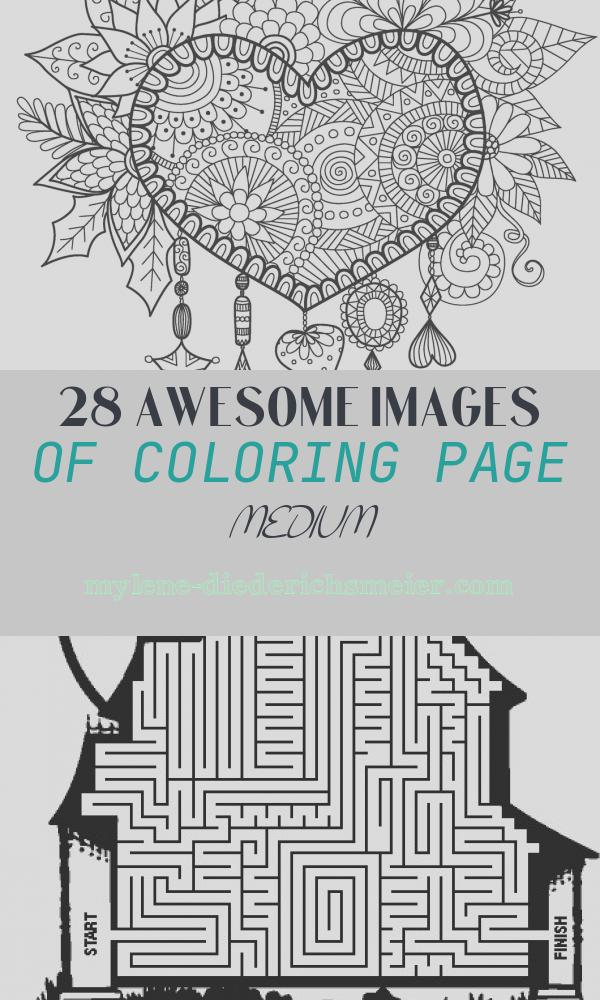 Coloring Page Medium Lovely Medium Designs for Adults who Color Live Your Life In