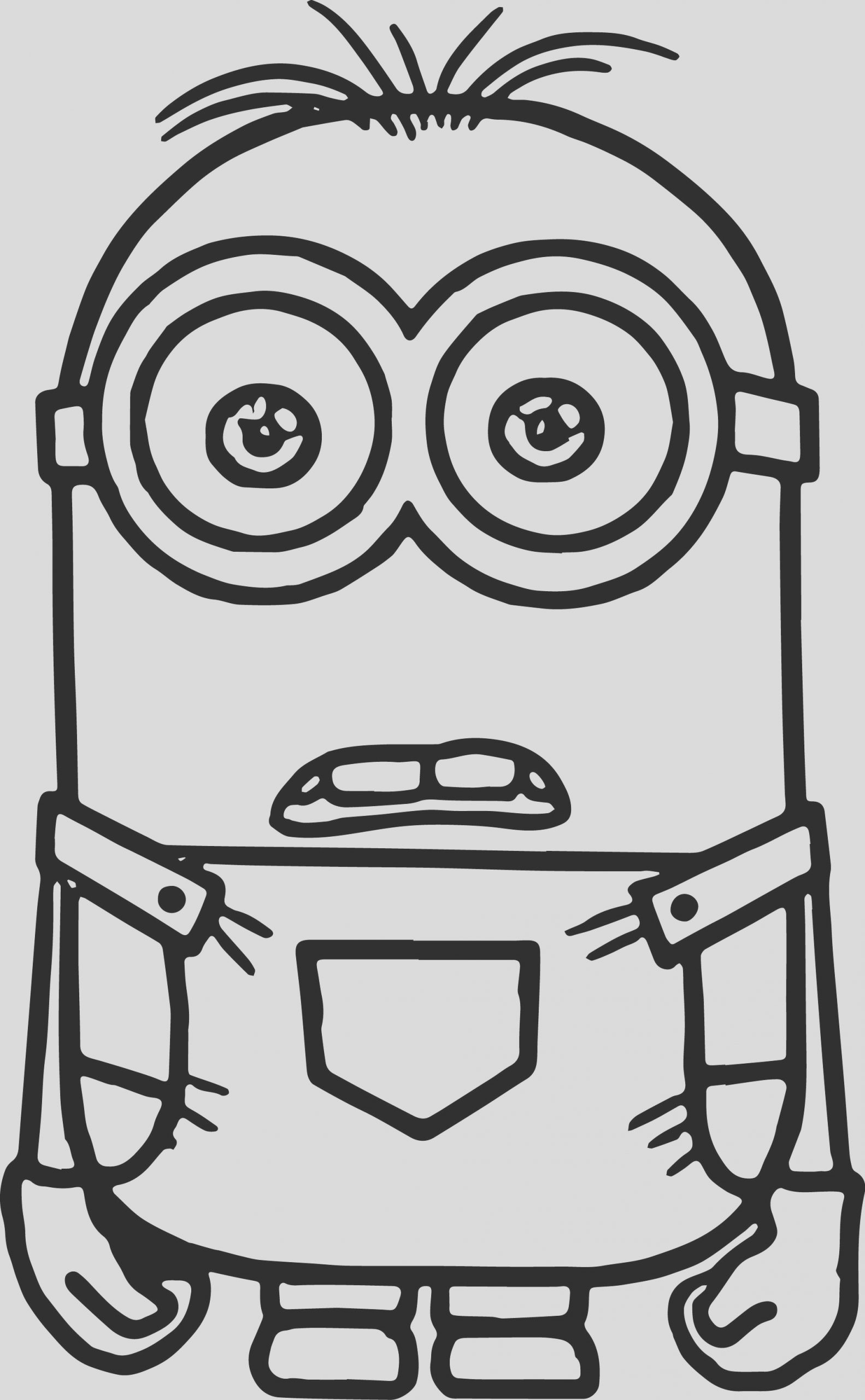 minion coloring pages 4886