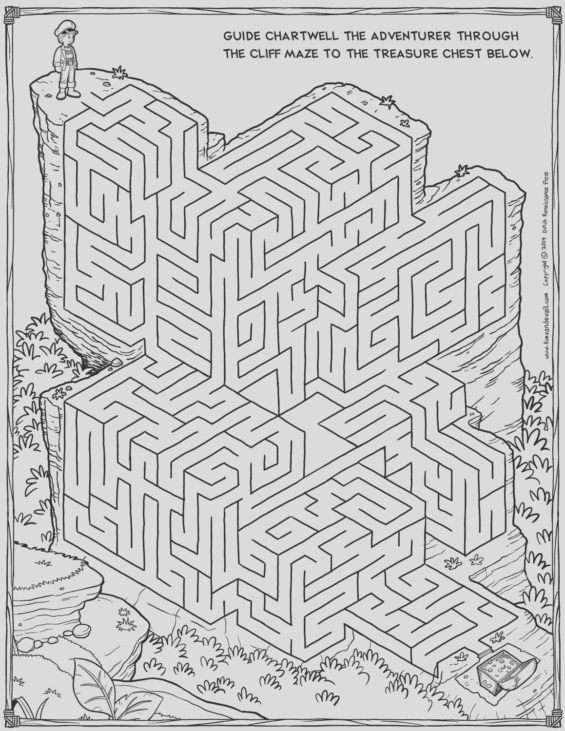 coloring mazes puzzles
