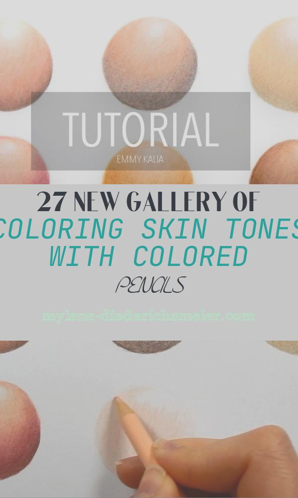 Coloring Skin tones with Colored Pencils Inspirational How to Color Blend Different Skin tones with Colored