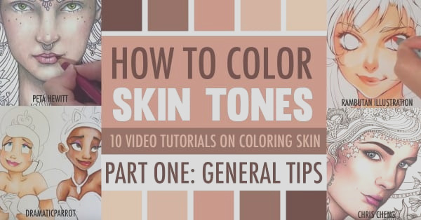 how color skin tones part one
