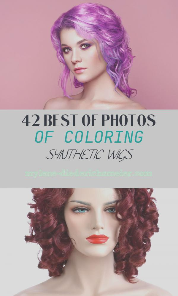 Coloring Synthetic Wigs Awesome Coloring Lace Front Wig