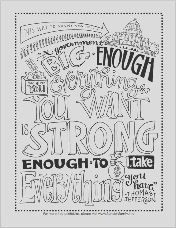 constitution day coloring pages free printables