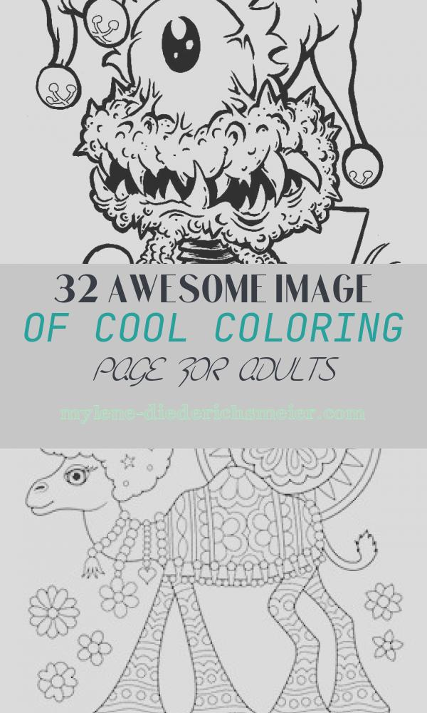 Cool Coloring Page for Adults Awesome Cool Coloring Pages