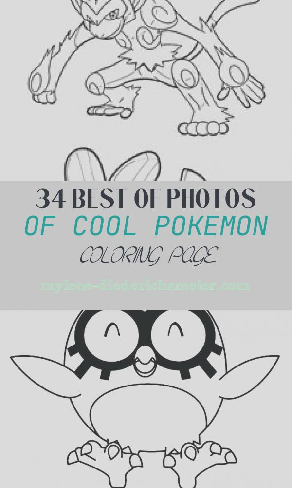 Cool Pokemon Coloring Page Awesome Cool Pokemon Coloring Pages at Getcolorings
