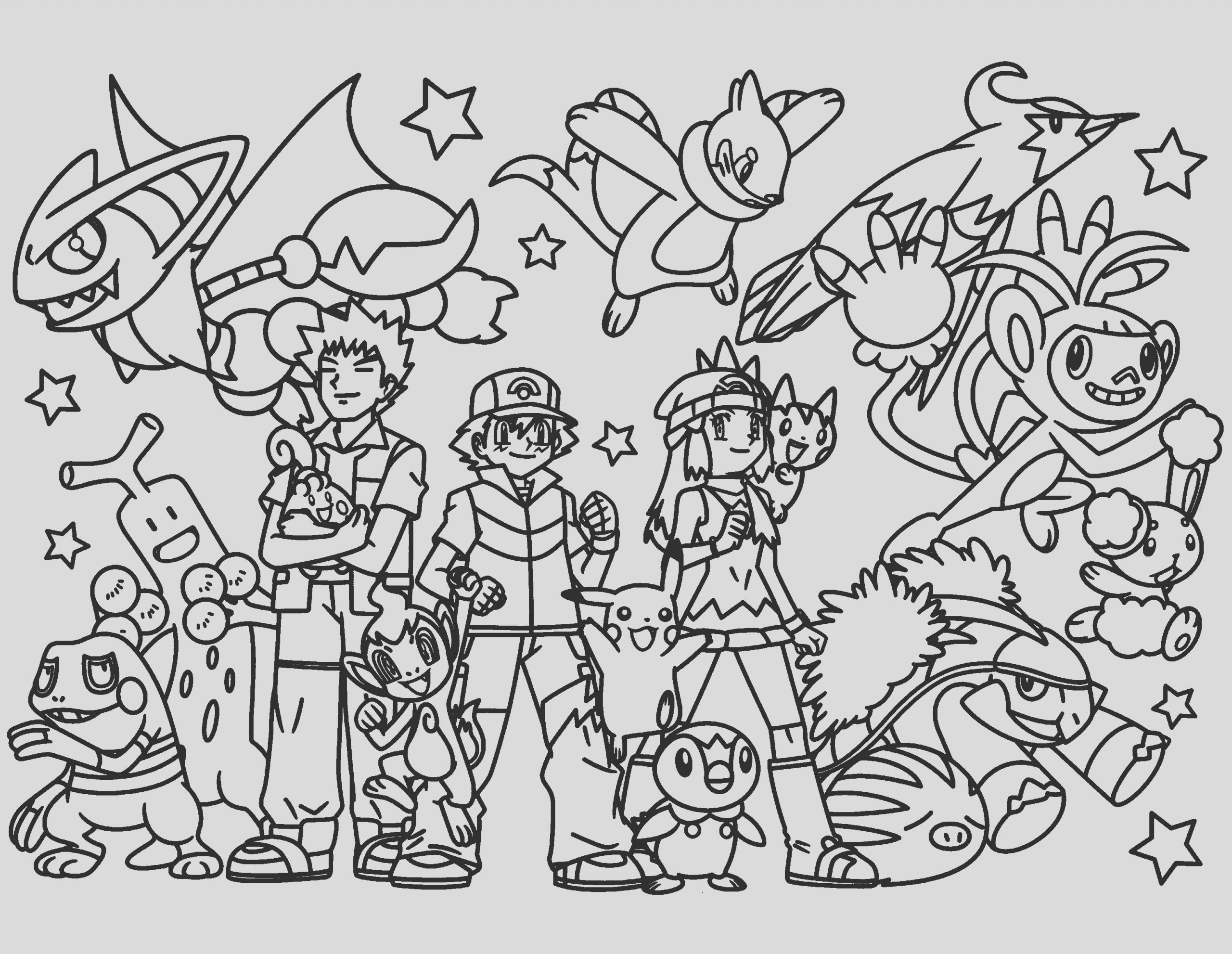 free pokemon coloring pages to print