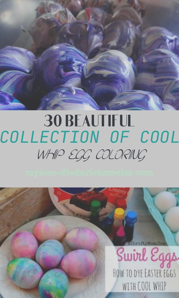 Cool Whip Egg Coloring Awesome Cool Whip Dyed Easter Eggs