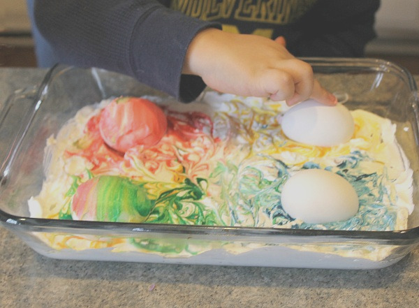 rice cool whip easter eggs
